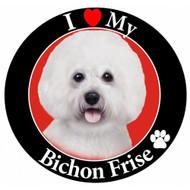 I Love My Bichon Frise Magnet