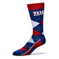 New York Giants Argyle Socks