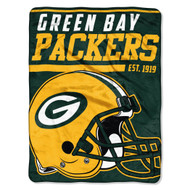 "Green Bay Packers 45""x60"" Super Plush Fleece Blanket"
