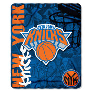 "New York Knicks 50""x60"" Fleece Blanket"