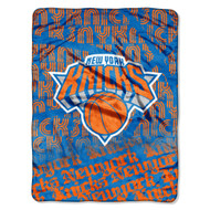 "New York Knicks 45""x60"" Super Plush Fleece Blanket"
