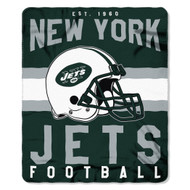 "New York Jets 50""x60"" Fleece Blanket"
