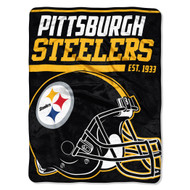 "Pittsburgh Steelers 45""x60"" Super Plush Fleece Blanket"