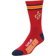 Cleveland Cavaliers '4 Stripe' Deuce Socks