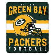 """Green Bay Packers 50""""x60"""" Fleece Blanket"""