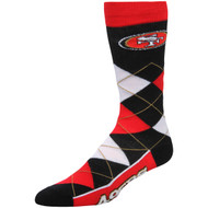 San Francisco 49ers Argyle Socks