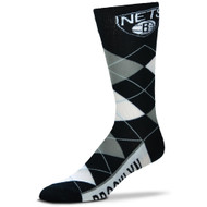 Brooklyn Nets Argyle Socks