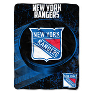 "New York Rangers 45""x60"" Super Plush Fleece Blanket"