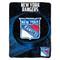 """New York Rangers 45""""x60"""" Super Plush Fleece Blanket"""