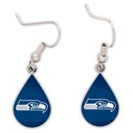 Seattle Seahawks Tear Drop Earrings