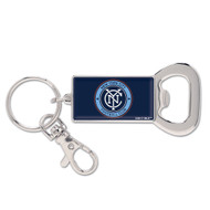 New York City FC Bottle Opener Keychain