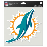 "Miami Dolphins 8""x8"" Team Logo Decal"