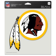 "Washington Redskins 8""x8"" Team Logo Decal"