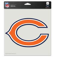 "Chicago Bears 8""x8"" Team Logo Decal"