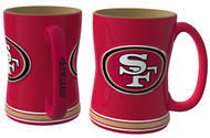 San Francisco 49ers Relief Coffee Mug