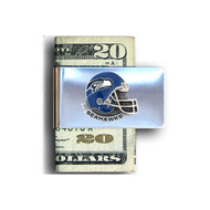 Seattle Seahawks Pewter Emblem Money Clip