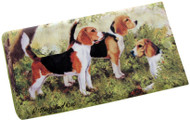 Beagle Luggage Bag Tag