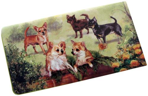 Chihuahua Luggage Bag Tag