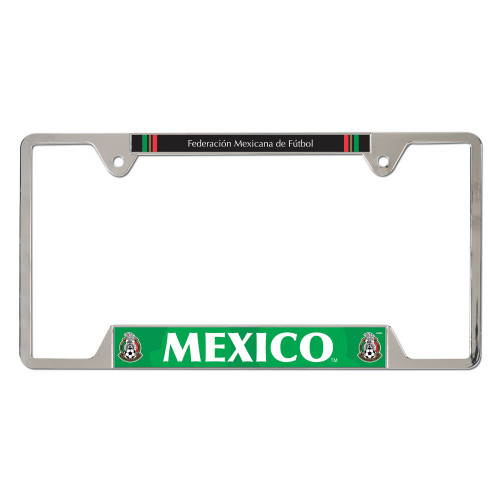 Mexican National Soccer Team Metal License Plate Frame