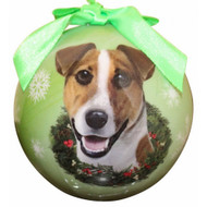 Jack Russell Christmas Ball Ornament