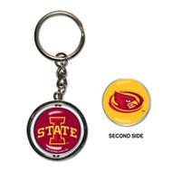 Iowa State University Spinner Keychain (WC)