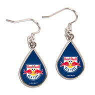 New York Red Bulls Tear Drop Earrings