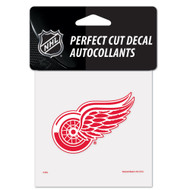 """Detroit Red Wings 4""""x4"""" Team Logo Decal"""