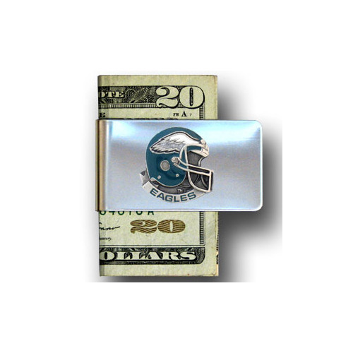 Philadelphia Eagles Pewter Emblem Money Clip
