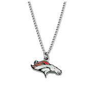 Denver Broncos Pendant Necklace