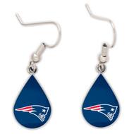 New England Patriots Tear Drop Earrings