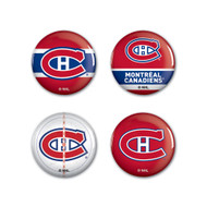 Montreal Canadiens Buttons 4-Pack