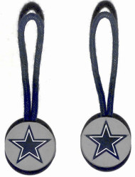 Dallas Cowboys Zipper Pull (2-Pack)