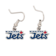 Winnipeg Jets Dangle Earrings