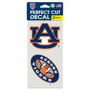 "Auburn University 4""x4"" Logo Decal (2-Pack)"