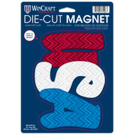 "USA Die Cut 6.25"" x 9"" Car Magnet"