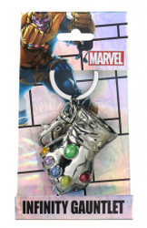 Thanos Glove Pewter Keychain