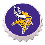 Minnesota Vikings Bottle Cap Magnet Bottle Opener