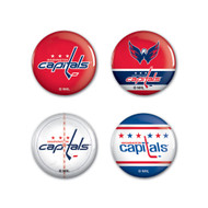 Washington Capitals Buttons 4-Pack
