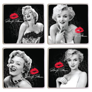 Marilyn Monroe 4 pc. Ceramic Coaster Set