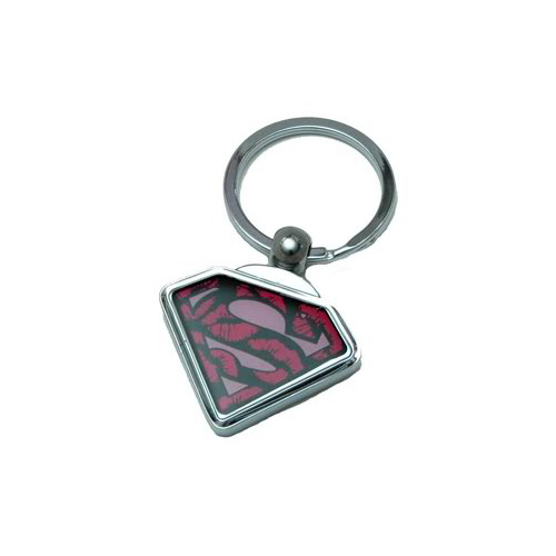 Supergirl Metal Keychain