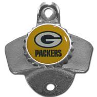 Green Bay Packers Metal Wall Mounted Bottle Opener