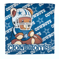 Dallas Cowboys Baby Burb Cloth