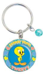 Tweety Bird Keychain Looney Tunes