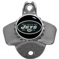 New York Jets Metal Wall Mounted Bottle Opener