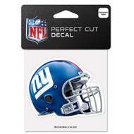"New York Giants 4""x4"" Helmet Decal"