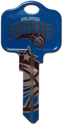 Orlando Magic Kwikset KW1 House Key