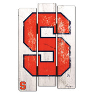 Syracuse University Wooden Fence Sign