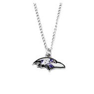 Baltimore Ravens Black Pendant Necklace