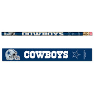 Dallas Cowboys Pencils - Pack of Six (6)