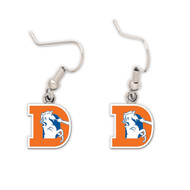 Denver Broncos Retro Dangle Earrings NFL
